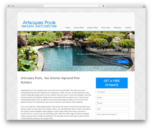 Theme WordPress Stack - poolbuildersanantonio.com
