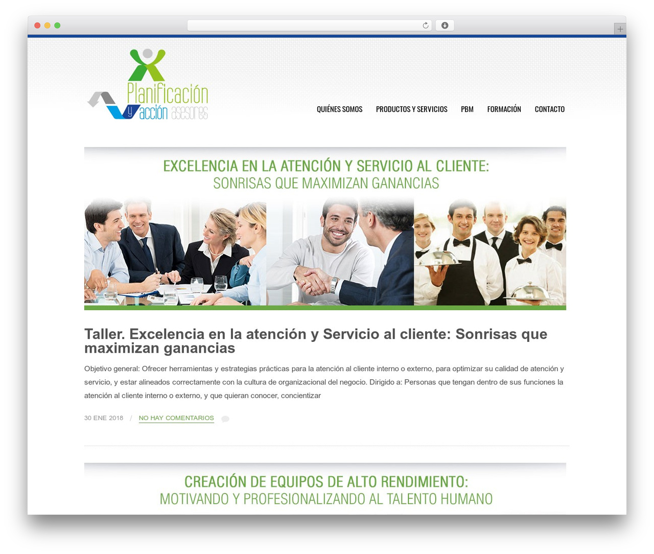 Best WordPress theme Tesla - planificacionyaccion.com
