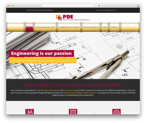 BuilderPlus WordPress theme - pdebv.com