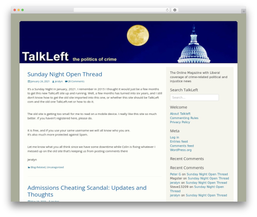 Catch Base Pro WordPress news theme - premium.talkleft.com