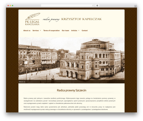 Chameleon template WordPress - pk-legal.pl