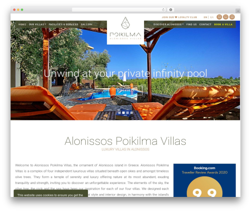 Free WordPress Snazzy Maps plugin - poikilmavillas.gr