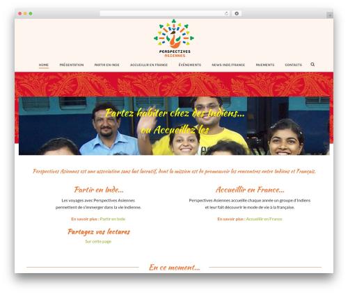 Jupiter best WordPress theme - perspectives-asiennes.org