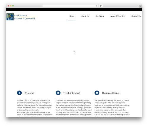 Law business company WordPress theme - pcharleslaw.com