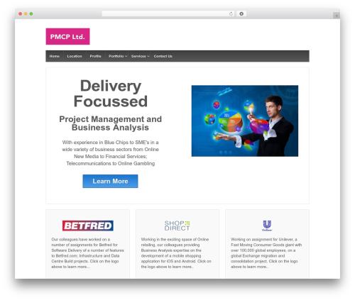 Responsive theme WordPress free - pmcpltd.com