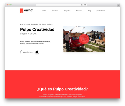 Salient WP theme - pulpocreatividad.com