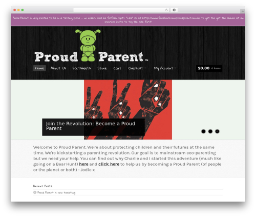 Whitelight best WordPress theme - proudparent.com.au