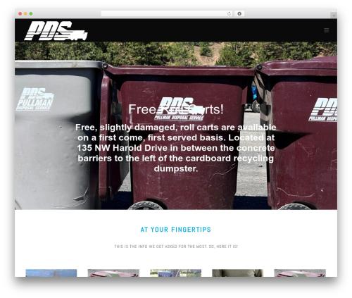WordPress theme Jupiter - pullmandisposal.com
