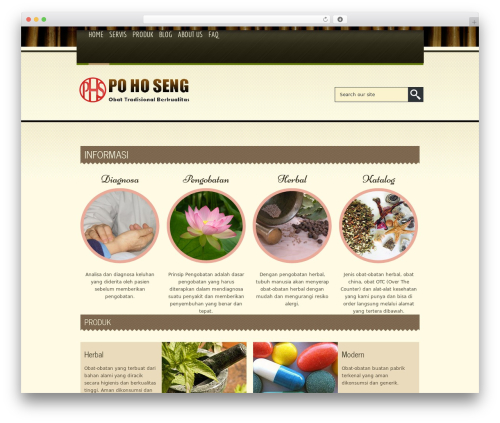 WP theme Spa Treats - pohoseng.com