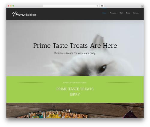 Avada WordPress template - primetastetreats.com