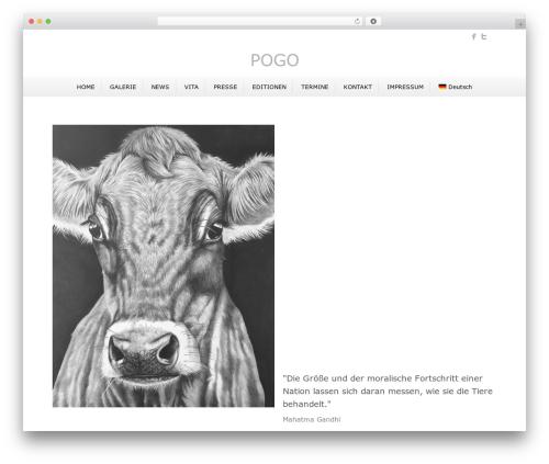 Beaver Builder Theme WordPress theme - pogo-art.de