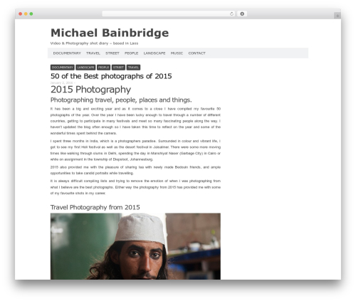 Codium Extend template WordPress free - photoblog.michaelbainbridge.com