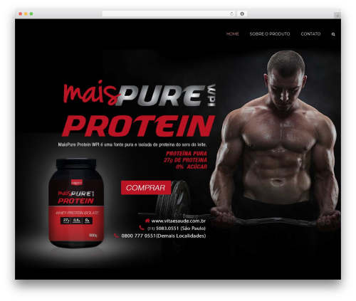 constructo (shared on wplocker.com) WP theme - pureprotein.com.br
