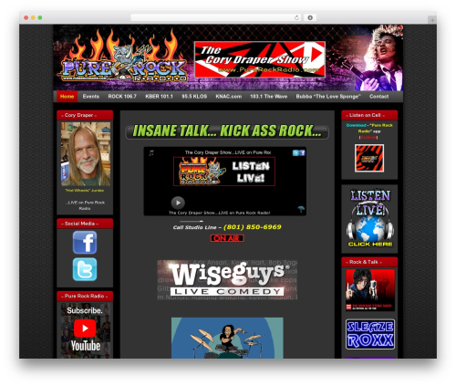 Free WordPress Meks Smart Social Widget plugin - purerockradio.com
