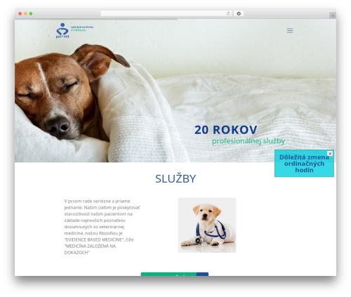 WordPress easy-slide-in plugin - petvet.sk