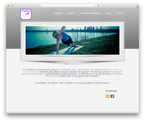 Best WordPress theme Karma (Shared on www.MafiaShare.net) - pilates-4u.nl