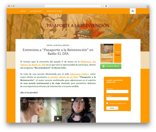 Bulan WordPress theme - pasaportealareinvencion.com