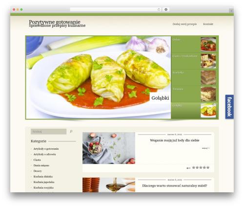 CookingPress theme WordPress - pozytywnegotowanie.pl