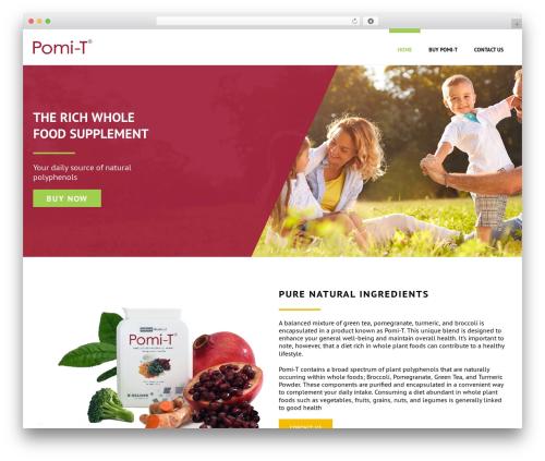 Jupiter best WordPress template - pomi-t.ca