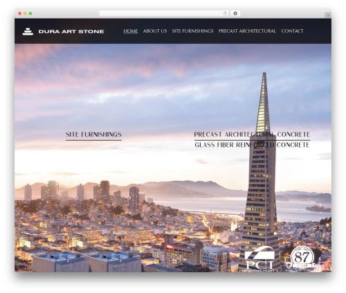Template Pixelwebsource WordPress theme - duraartstone.com