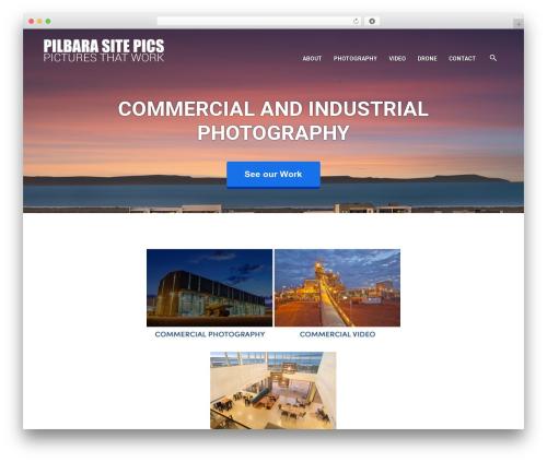 WordPress wolf-portfolio plugin - pilbarasitepics.com.au
