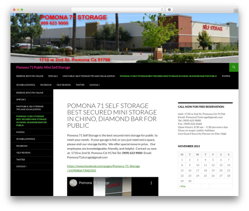 Free WordPress WordPress Local SEO plugin - pomona71storage.com