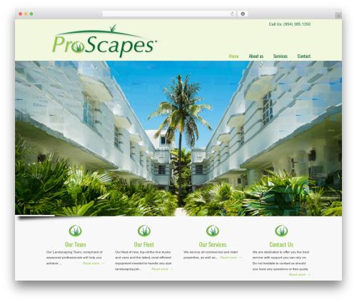 U-Design WP template - proscapesent.com