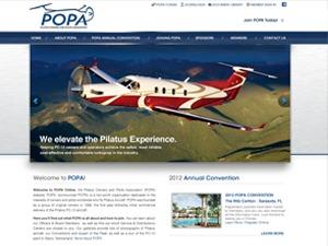 WordPress template POPA