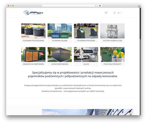Betheme WordPress website template - ppbin.com