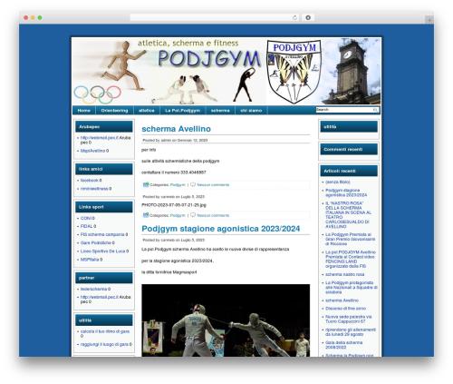 Celestial Aura WordPress theme - podjgym.com