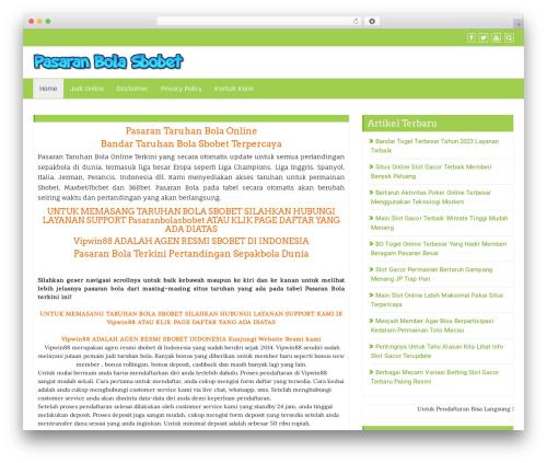 Di Business free WordPress theme - pasaranbolasbobet.com