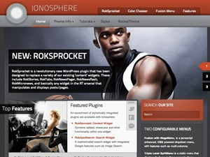 Ionosphere WordPress theme