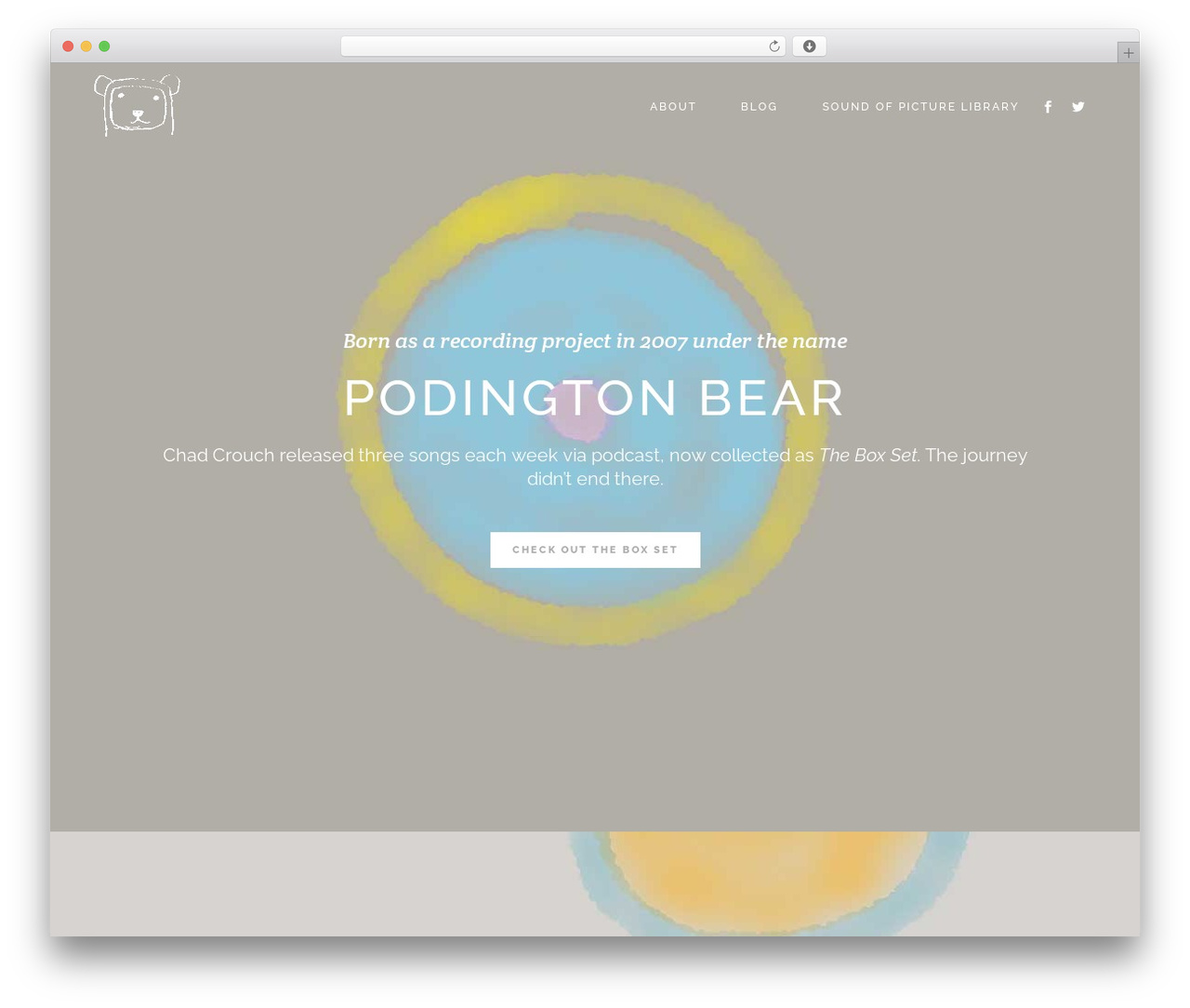Stockholm WordPress theme - podingtonbear.com