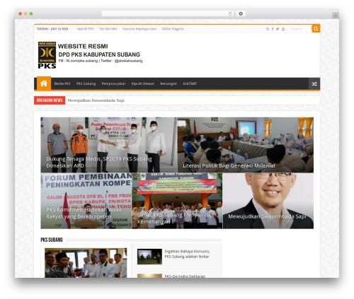 Theme WordPress Sahifa (shared on wplocker.com) - pks-subang.org