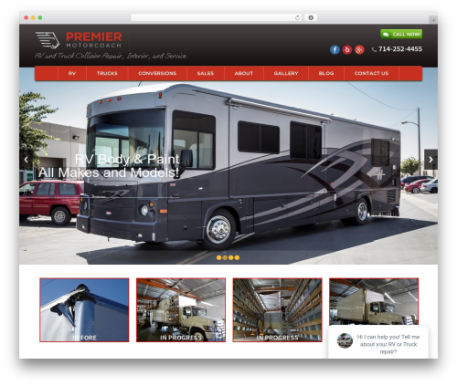 Free WordPress WP Simple Galleries plugin - premiermotorcoach.com