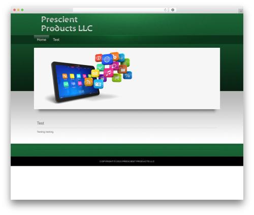 Apollo Child Theme premium WordPress theme - prescientproducts.com