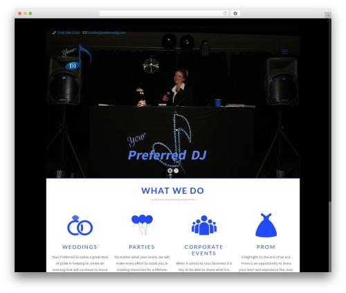 Best WordPress theme Betheme - preferreddj.com