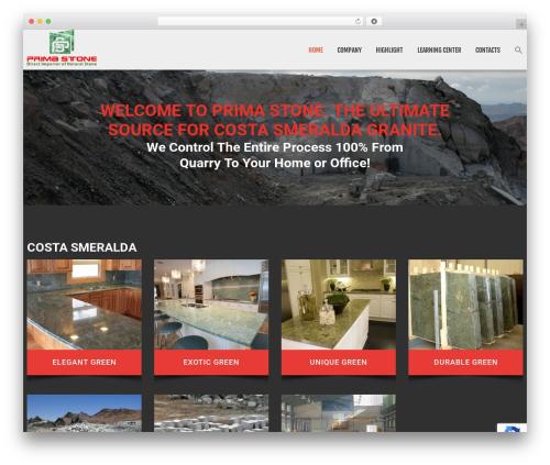 cherry WordPress website template - primastonellc.com