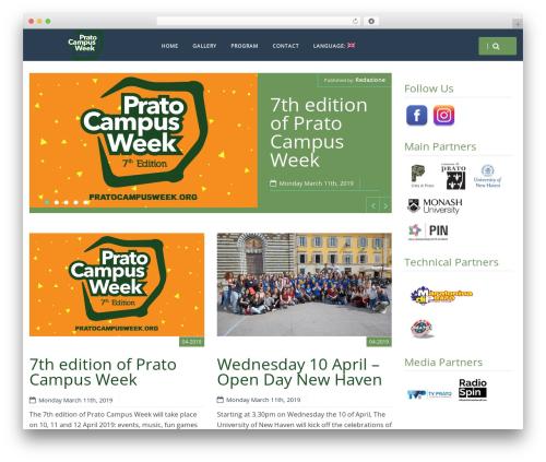 HarmonUX Core WordPress template free download - pratocampusweek.org