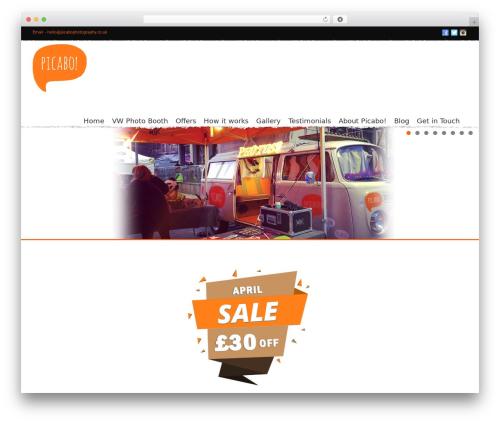 Noisy wallpapers WordPress theme - picabophotography.co.uk