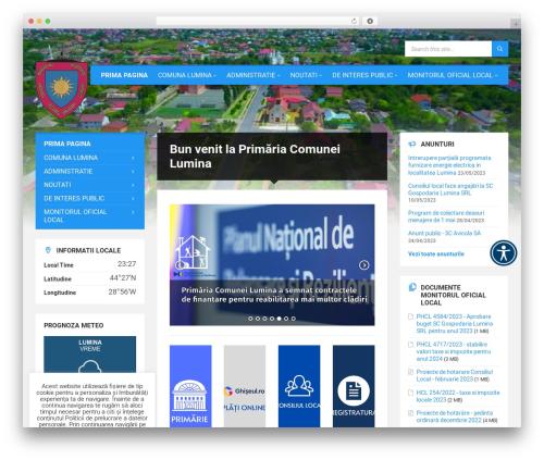 TownPress | Shared By themes24x7.com WordPress theme - primaria-lumina.ro