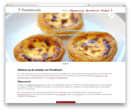 Free WordPress WF Cookie Consent plugin - picawines.com