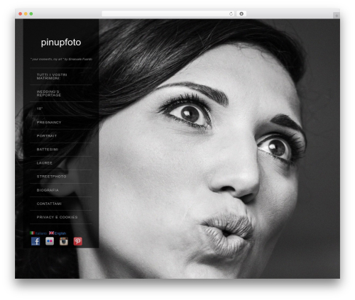 WordPress website template Widescreen-personal 1 - pinupfoto.it