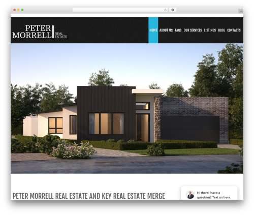 WP theme cherry - petermorrell.com.au