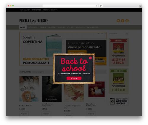 Xing WordPress template - piccolacasaeditrice.it