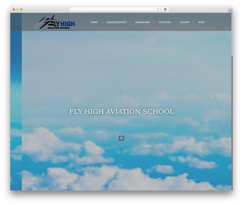 Ananke Theme WordPress template - flyhighaviationschool.com