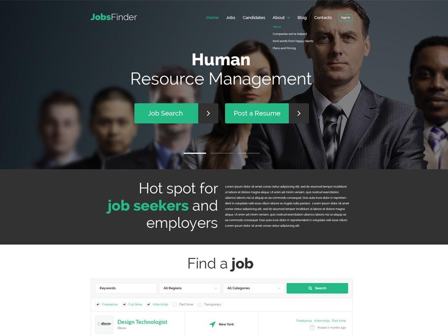 Best WordPress template theme52547