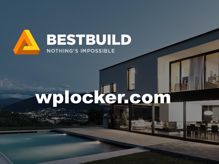 BestBuild (shared on wplocker.com) company WordPress theme