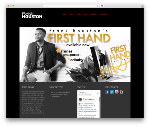 Current premium WordPress theme - fhouston.com