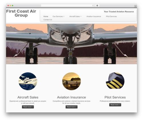 Customizr template WordPress free - firstcoastairgroup.com